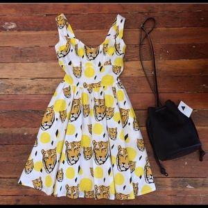 Nooworks sweetheart tiger dress